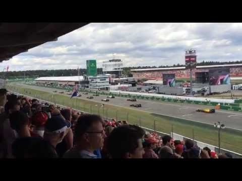 Hockenheimring F1 GP Race Start Tribune G