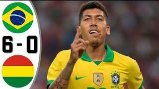 ไฮไลท์ฟุตบอล บราซิล vs โบลิเวีย 6-0 ล่าสุด2020/2021