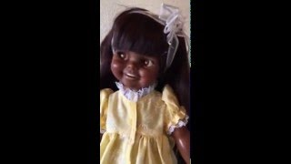 Vintage Ideal Black African American Giggles Doll On Ebay