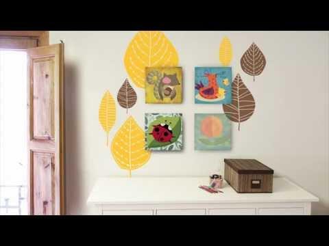Cuadros infantiles vinilos decorativos for Vinilos decorativos infantiles