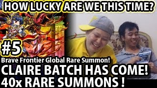 Brave Frontier 40x Rare Summons For Claire