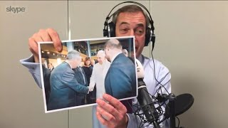 The Nigel Farage Show: Macron's Brexit trade deal means accepting more migrants. LBC - 15th Jan 2018