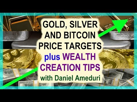 Gold, Silver, Bitcoin Price Targets + Wealth Creation Tips From Daniel Ameduri