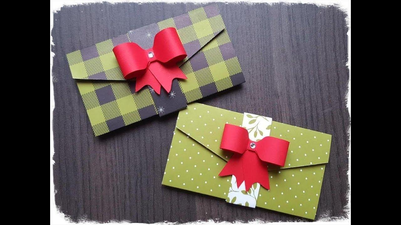 Atelier Tuto Carte Cadeau Porte Billet Porte Chèque Par