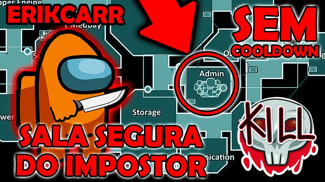 Download Among Us mas SALA SEGURA DO IMPOSTOR e SEM COOLDOWN