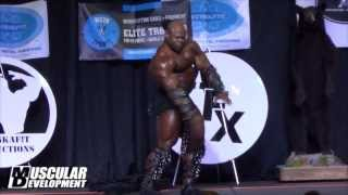 Kai Greene Guest Posing at the AFX - Alaska Fit Expo