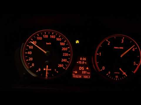 BMW 535 D - M-sport acceleration 0-140 km E60 272hp