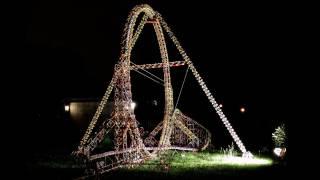World's Largest K'nex Roller Coaster Loop (with POV)