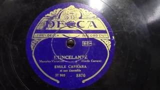 Emile Carrara: Etincelante.
