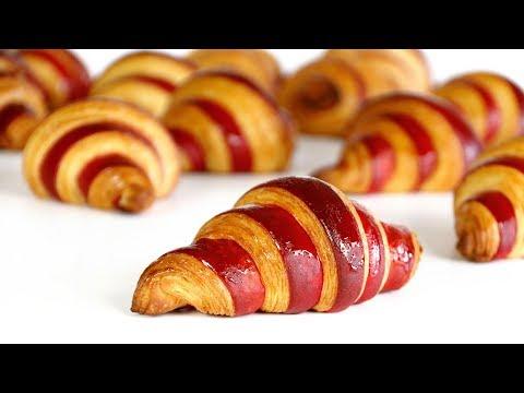 Croissants Bicolores, técnicas y trucos