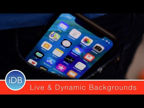 Hands on with the iPhone X Exclusive Dynamic & Live Wallpapers