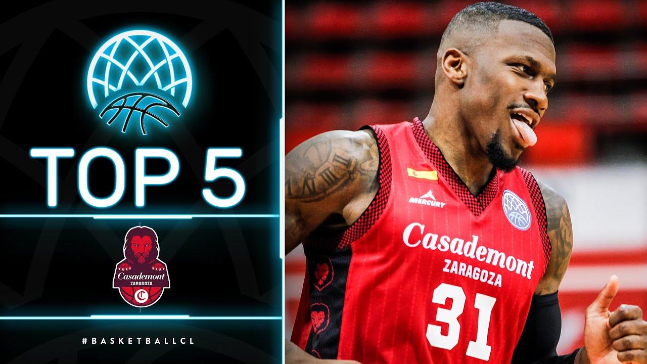 Top 5 Plays | Casademont Zaragoza | Basketball Champions League 2020/21