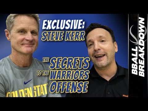 Steve Kerr EXCLUSIVE: SECRETS To The WARRIORS Offense