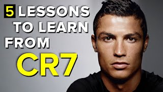 5 important lessons to learn from Cristiano Ronaldo