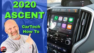 Infotainment How To - 2020 Subaru Ascent