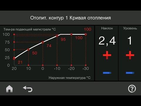Настройка Кривой Отопления