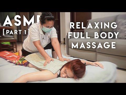 ????????♀️ ASMR Relaxing Indonesian Full Body Massage「PART 1」