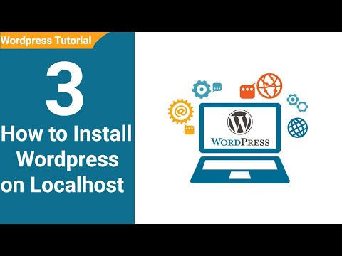 03 How to Install Wordpress on Localhost wordpress tutorial for beginners thumbnail