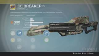 Icebreaker Exotic Sniper (2016) Returns to Destiny: Rise of Iron