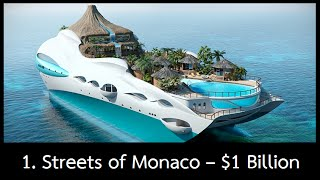 Top 10 Most Expensive Yachts In The World 2016