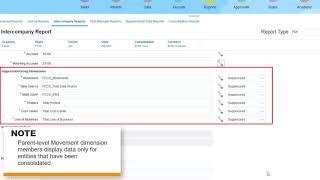 Creating Intercompany Reports in Financial Consolidation and Close video thumbnail