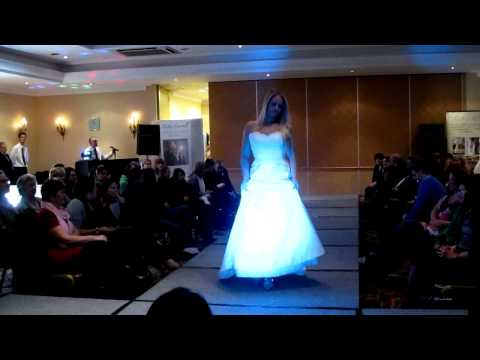 Anna McDonald Bridal Gallery wedding fashion show at Oxford Belfry Wedding Fair