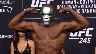 UFC 245: Weigh-in