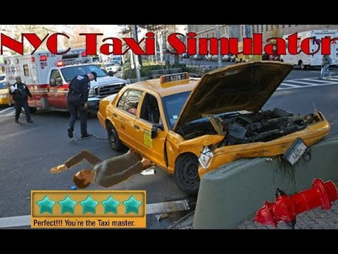 TAXI MASTER?! NYC Taxi Simulator | Shitty Simulators Episode 1