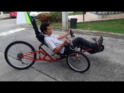 ทดลองปั่นจักรยาน3ล้อ ARTIFICE กับเขาสักหน่อยดุแล้วหน้าสนใจ