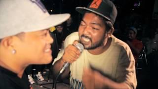 Bahay Katay - Shernan Vs Bogito - Rap Battle @ Giniling Festival Pt. 1