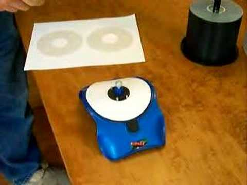 How To Apply A Cd Label - Youtube