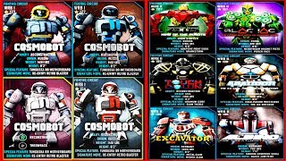 Real Steel WRB Championship Cosmobot VS ALL World Robot Boxing II Old School (Живая Сталь)