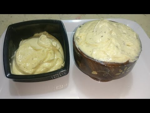 Mayonnaise Recipe - Basic & Garlic Mayonnaise Recipe In 2 Mins | Homemade Mayo Recipe