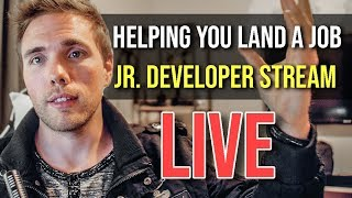 🔴Jr. Developer Stream - NOW ON TWITCH | @joshuafluke everywhere