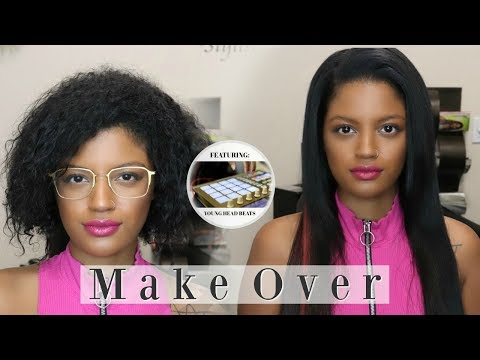 Get Rock$tar Hair with  Pink hair Streak | Makeover #11| Feat. Young Head Beats | Los Angeles