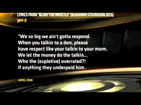 Bob Ley ESPN remix to jayz blow the whistle deshawn stevenson