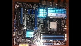 CPU LED мигает красным Asus M5A99X EVO