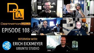 Destination Linux EP108 - Ubuntu Studio Amped Up