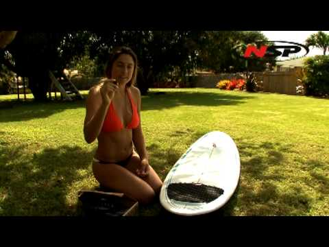 How to Setup your NSP Surfboard