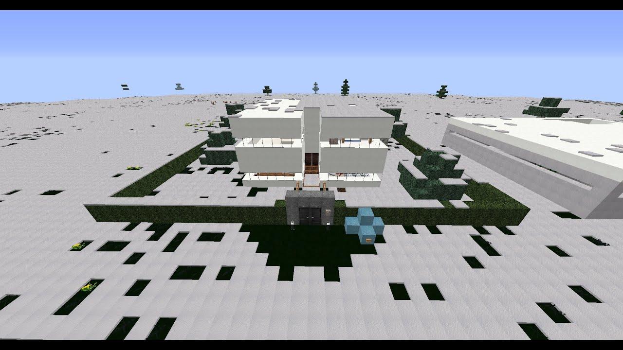 Minecraft tutorial come costruire una casa moderna ita for Casa moderna minecraft ita download