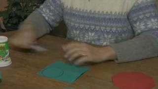 Origami & Paper Crafts : How to Make Paper Geometric Shapes