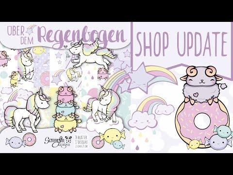 Meine Einhorn Kollektion ♥ Über dem Regenbogen ♥ Shop Update | DEUTSCH | Sammyfim
