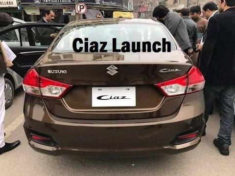 Suzuki Ciaz Launch in Pakistan | Price | Engine