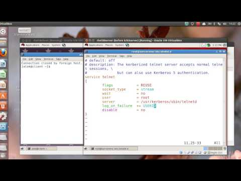 Kerberised Telnet and SSH - Networknuts