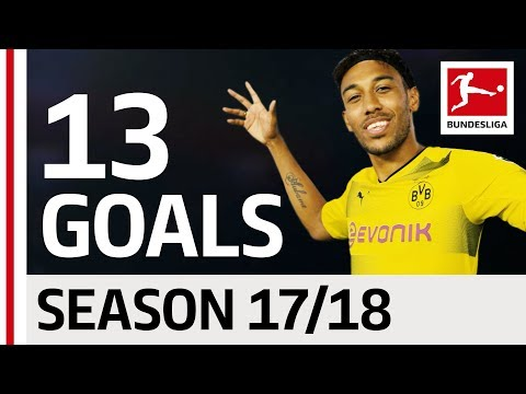 Pierre-Emerick Aubameyang - All Goals so far 2017/18