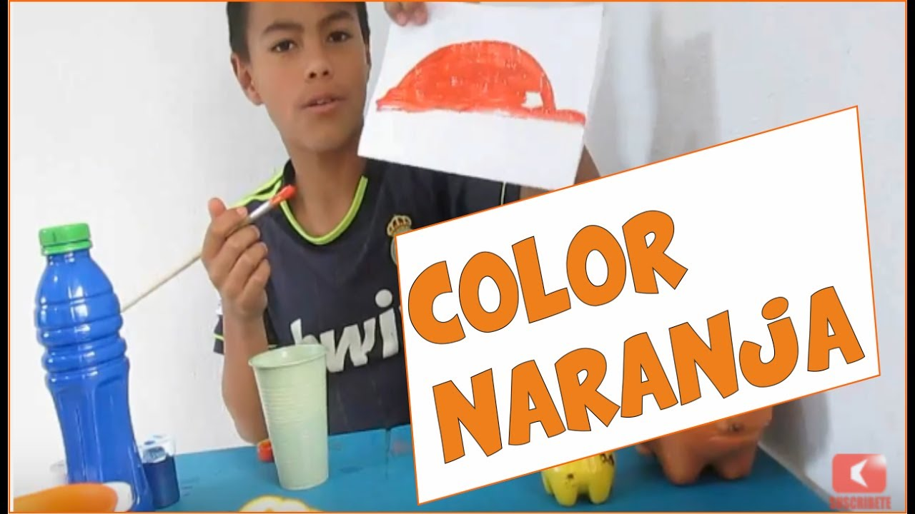 Como hacer el color naranja camacho youtube - Como hacer color naranja ...