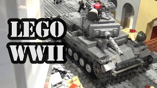LEGO WWII Battle at Ramelle from Saving Private Ryan