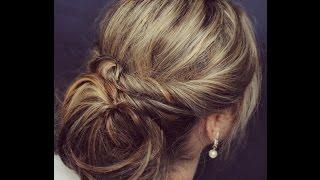 видео Прическа на свадьбу подружке невесты на средние и длинные волосы