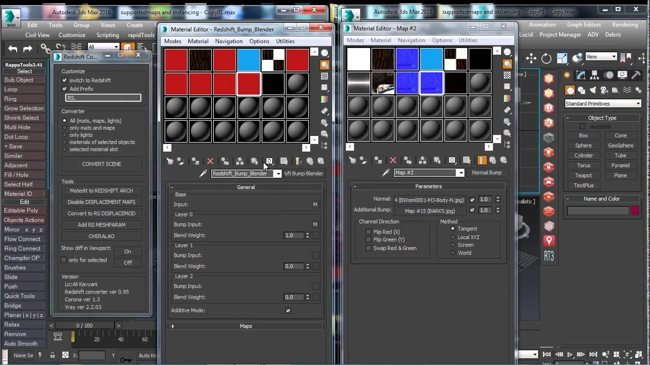 Redshift converter (Vray maps convert)