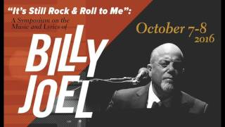 2016 Billy Joel Symposium Phone Call